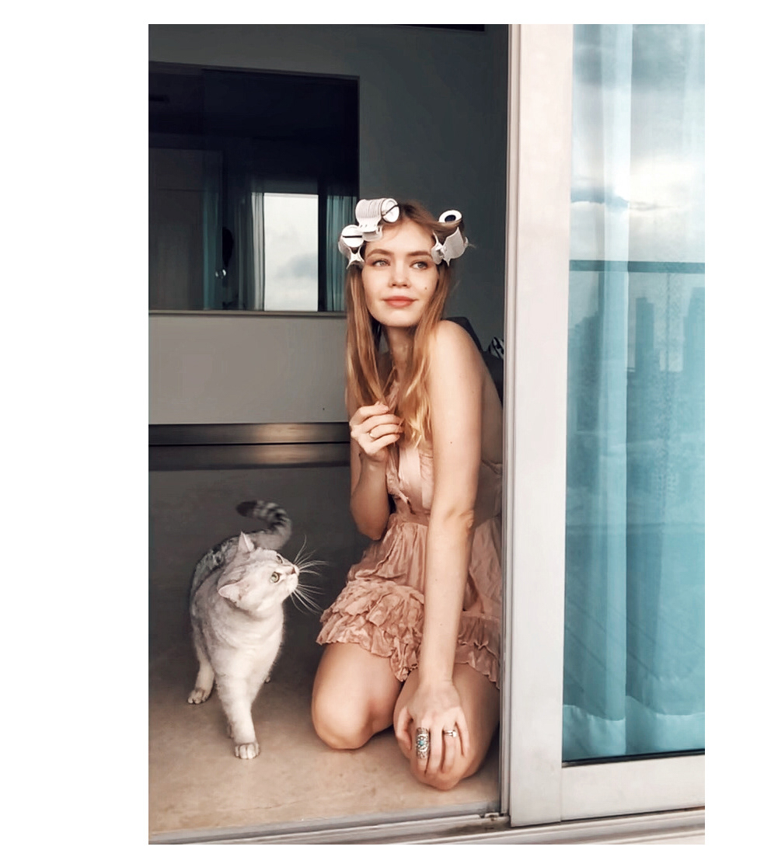 Zhenya Vincent | Stay Home / фотограф Tatyana Kizeeva