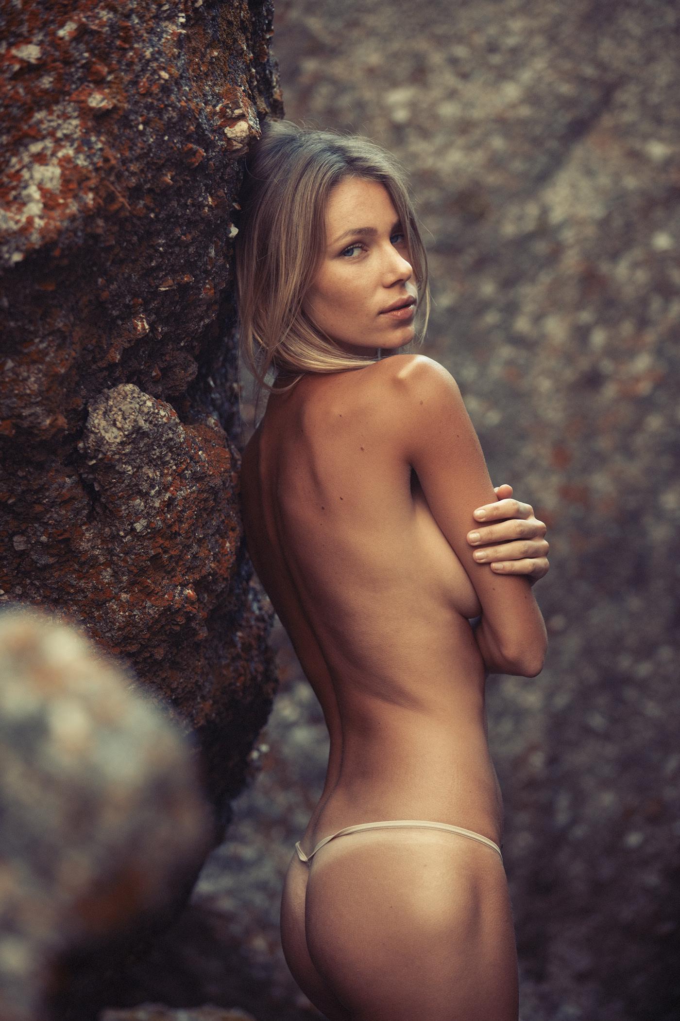 Gracie in Morning Mist shot for Rektmag | фото Gary Huddlestone
