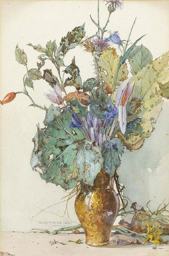 цветы Gustav Feith