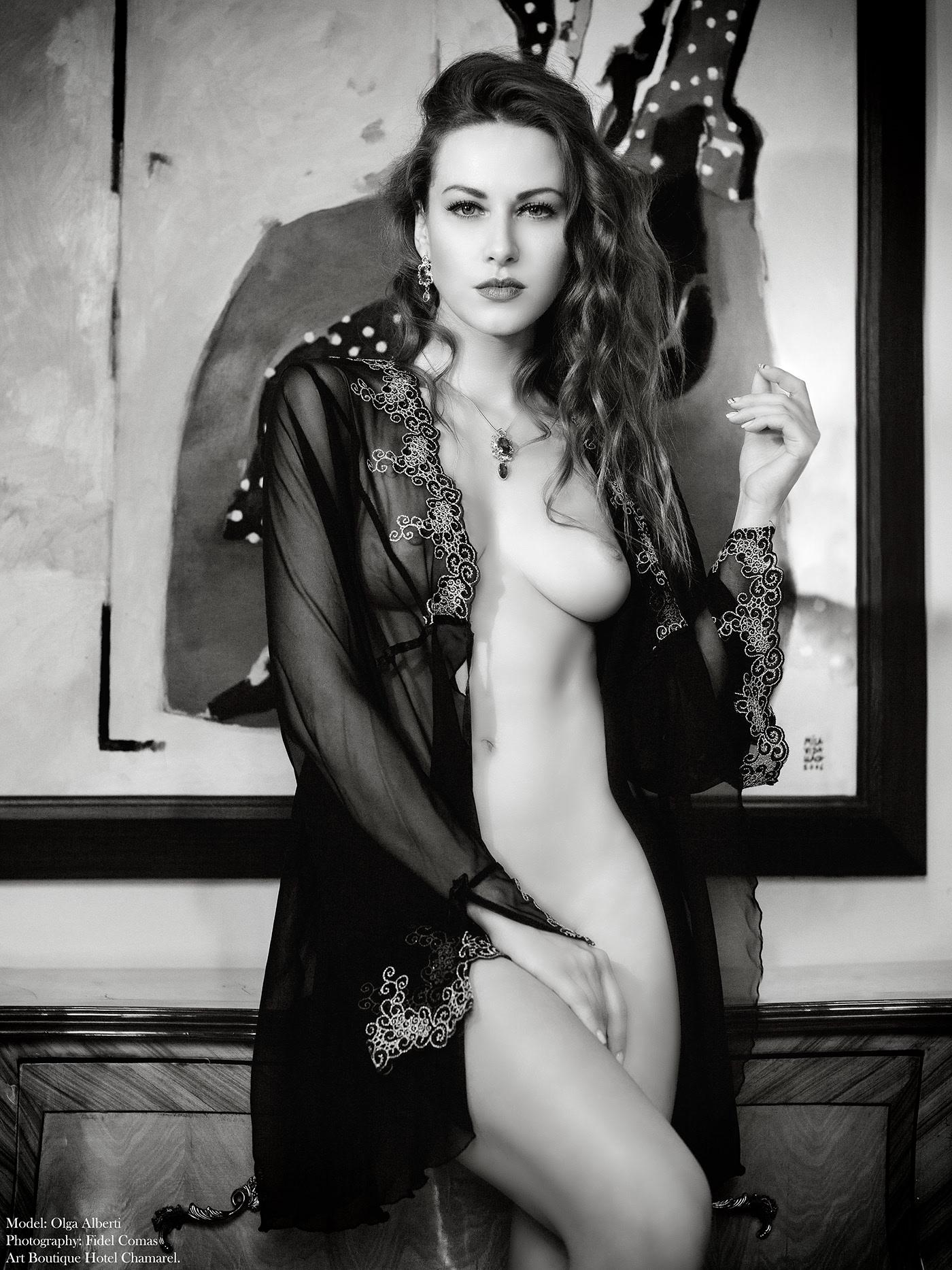 Olga Alberti / фотограф Fidel Comas