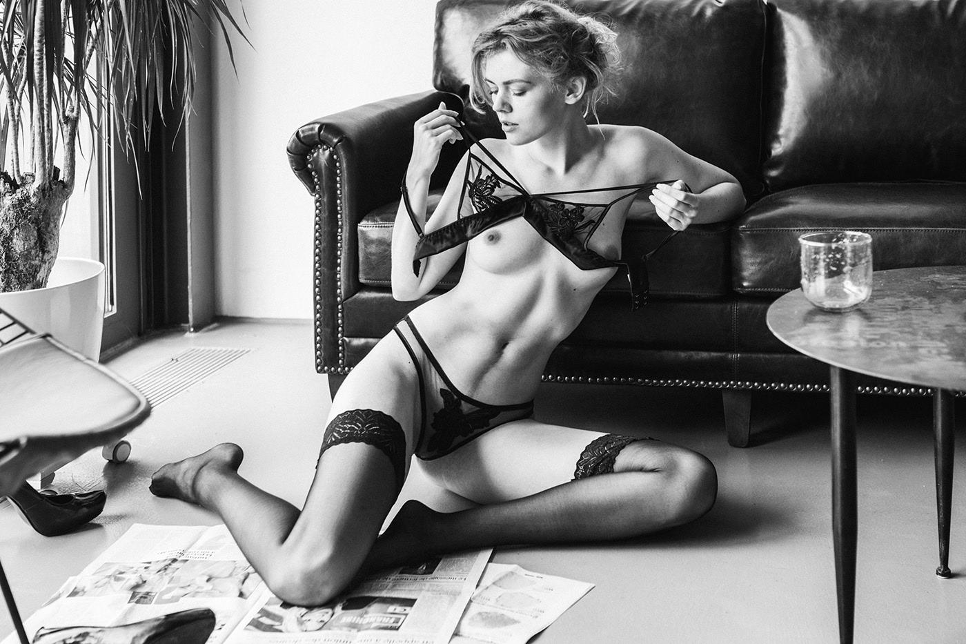 Модель Kate Ri / фотограф Hannes Walendy