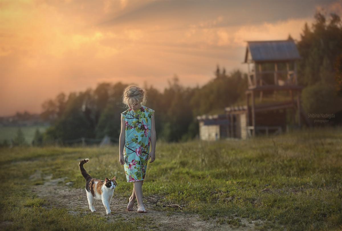 Модель Полина / Фотограф дизайнер Надежда Шибина