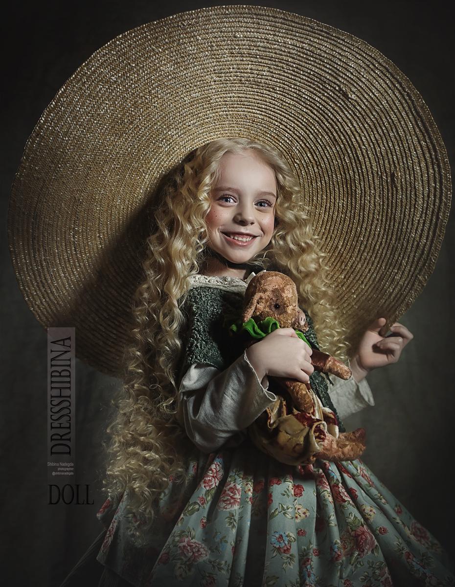 Кукла / фотограф Надежда Шибина