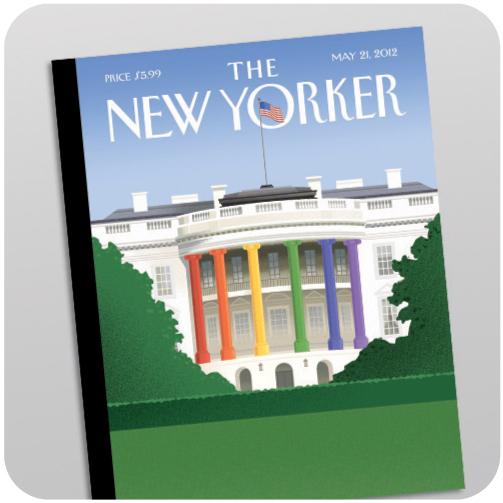 The New Yorker. 21 мая. Цветовой спектр