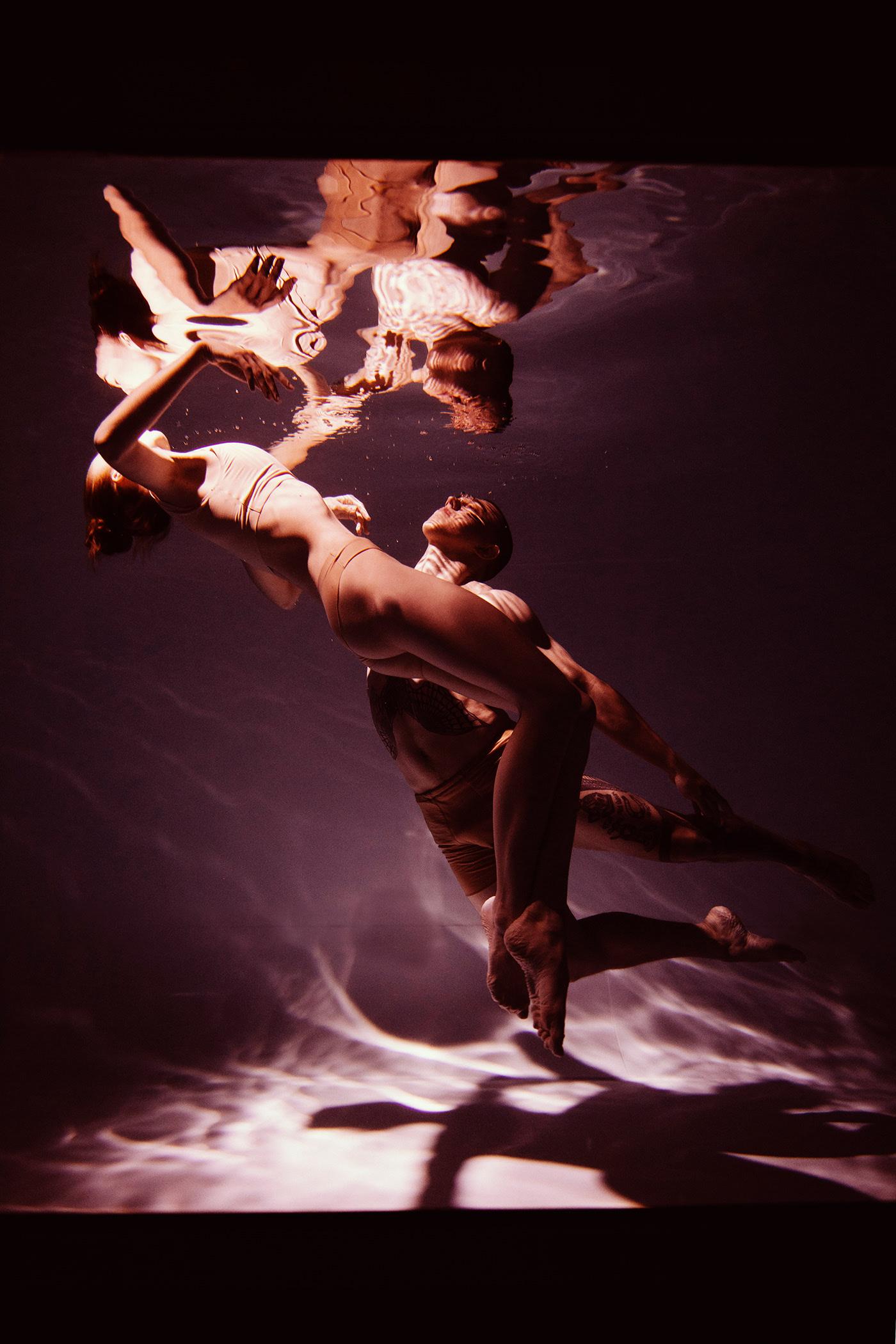 underwater dance / фотограф Marta Syrko