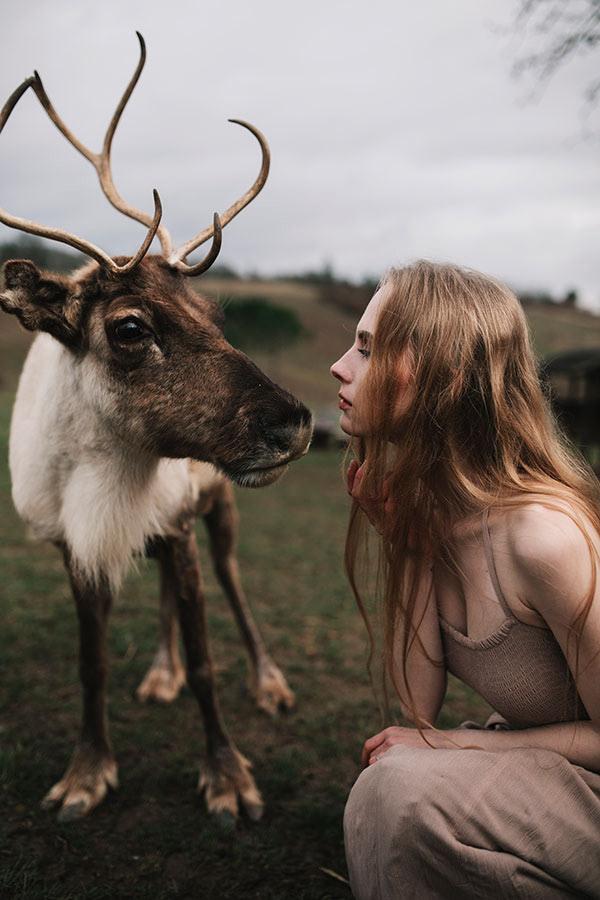 White Reindeer / фотограф Jovana Rikalo