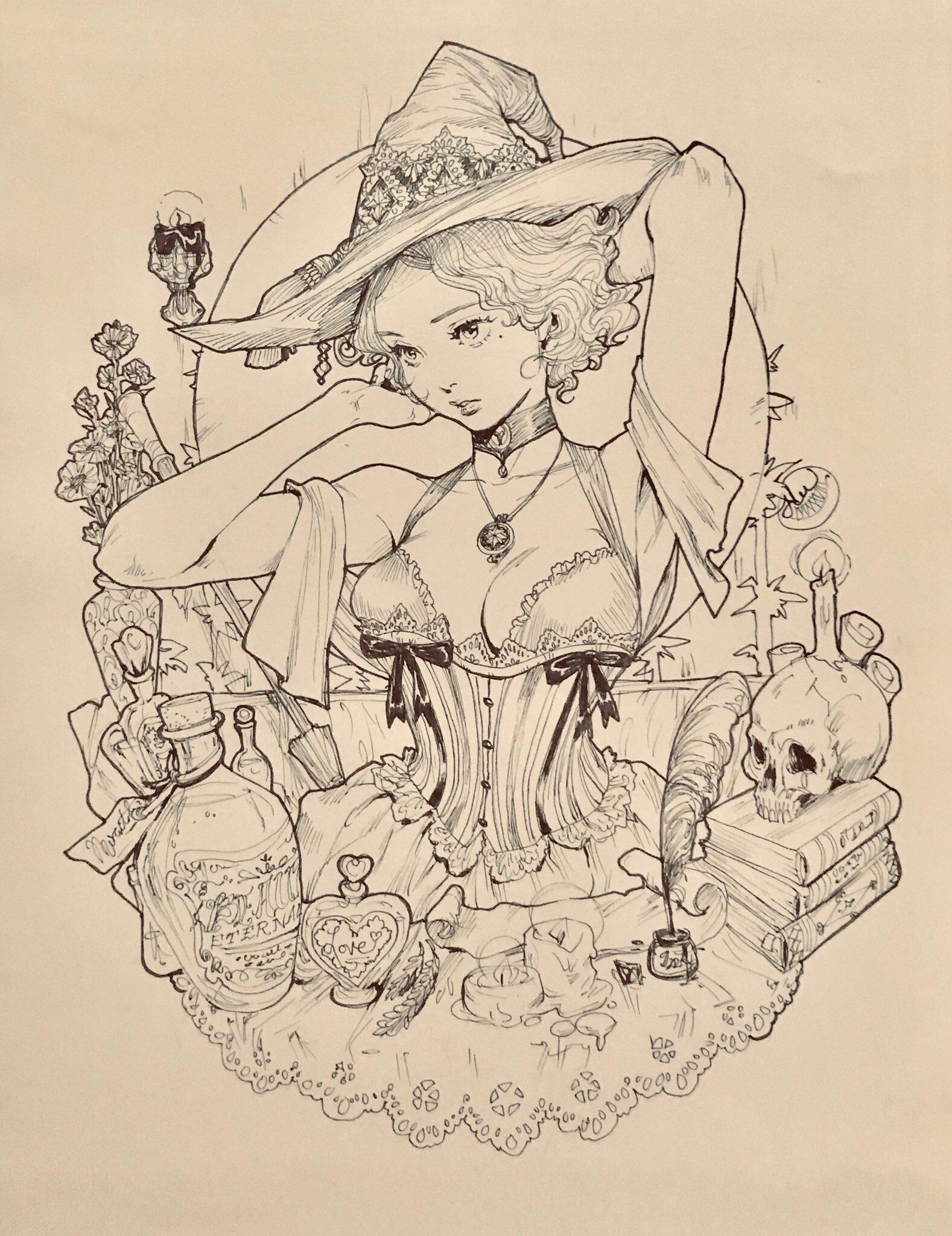 Викторианская ведьма