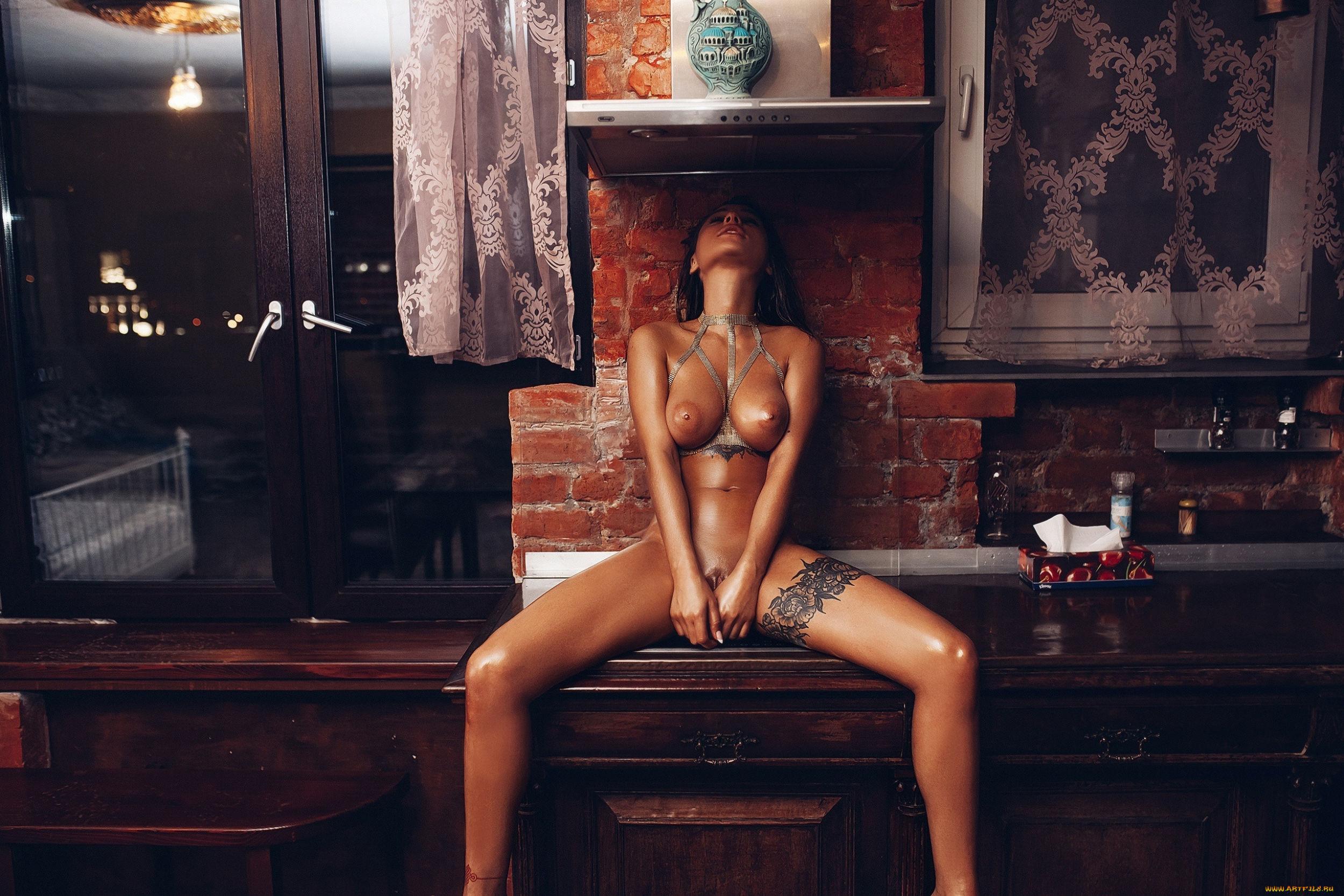 Model Kristina Scherbinina (Liya Silver) / Photographer Roma Roma