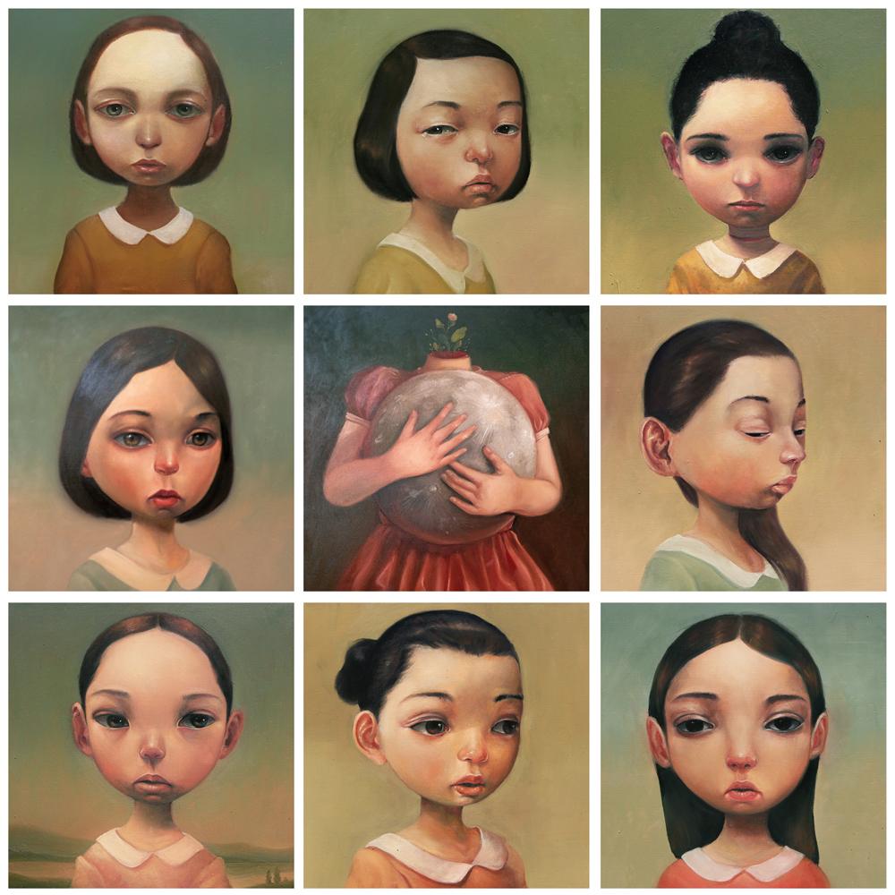 Januari di Utara / художник Roby Dwi Antono