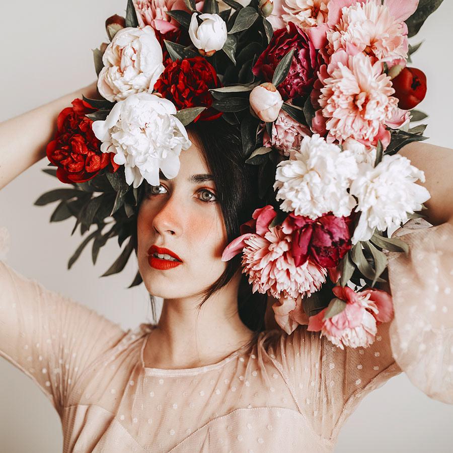 Peony Girl / фото Jovana Rikalo