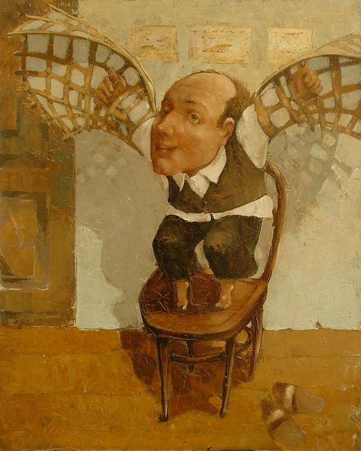 художник Эмзар Мгебришвили