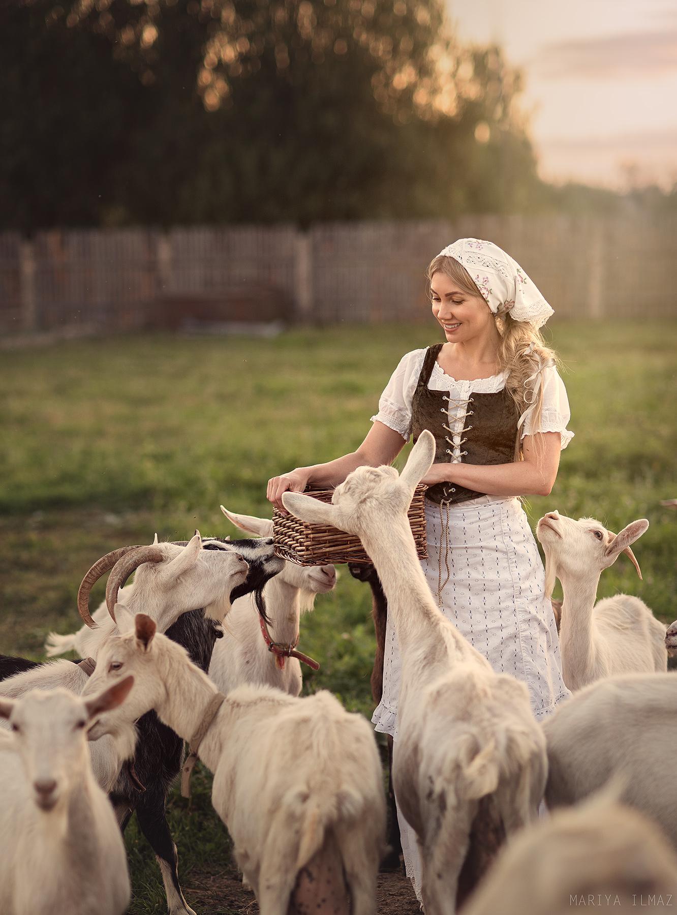 В деревне / фотограф Мария Илмаз