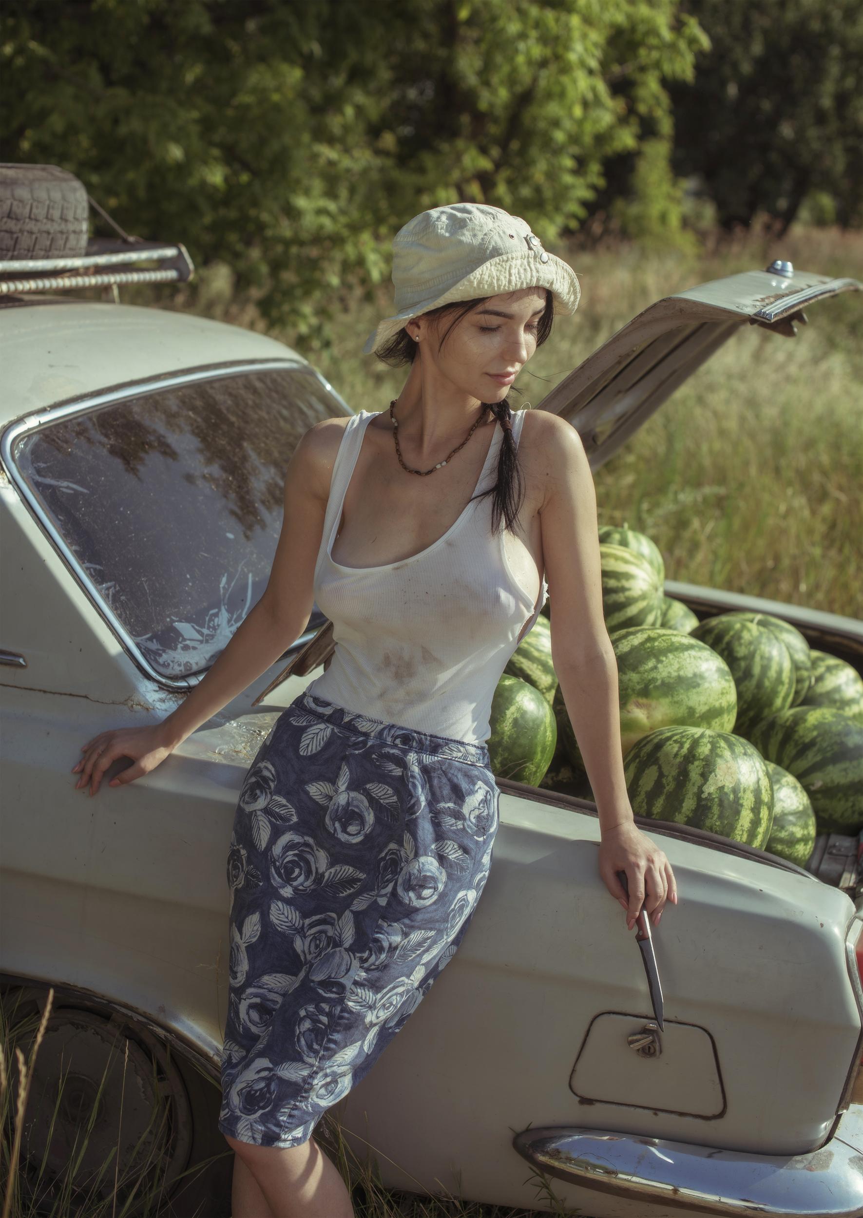 Купите пару арбузиков? / фотограф Давид Дубницкий