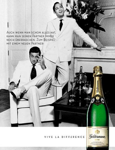 Немецкое шампанское Geldermann