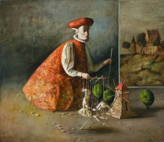 художник Vahram Davtian