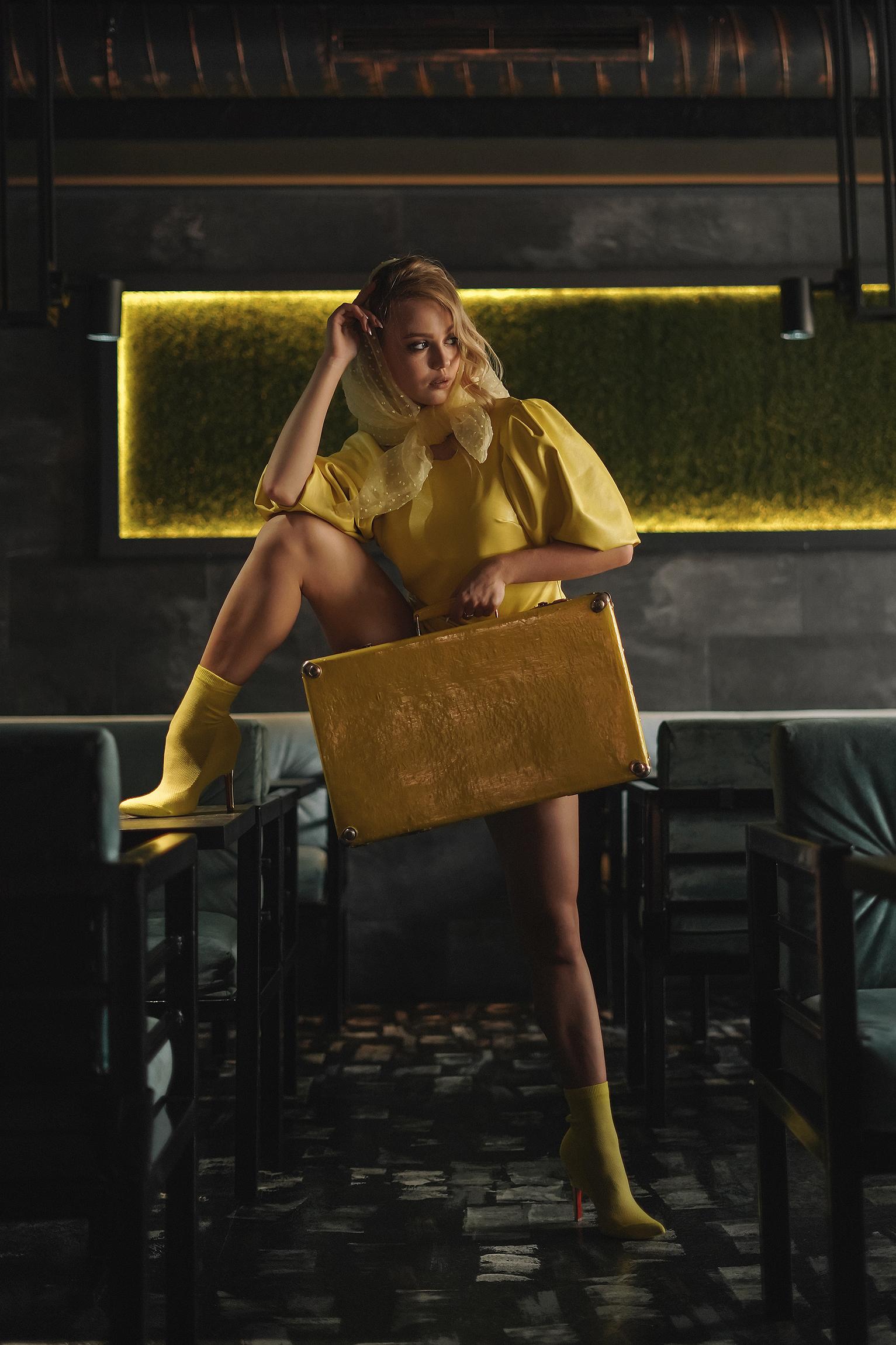 Желтые ботинки / фотограф Photographyzp Yana