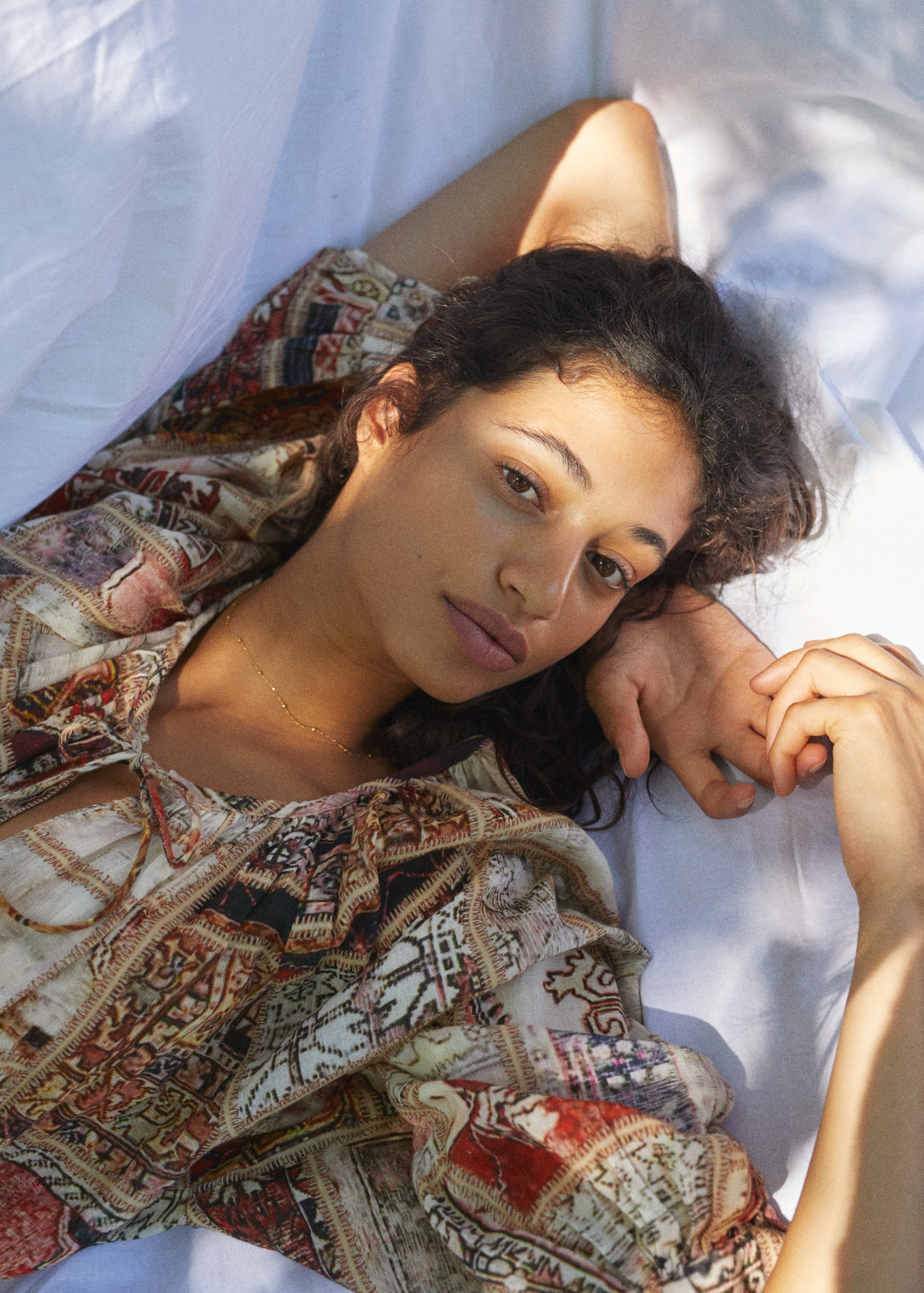 Malika El Maslouhi для журнала Anthropologie
