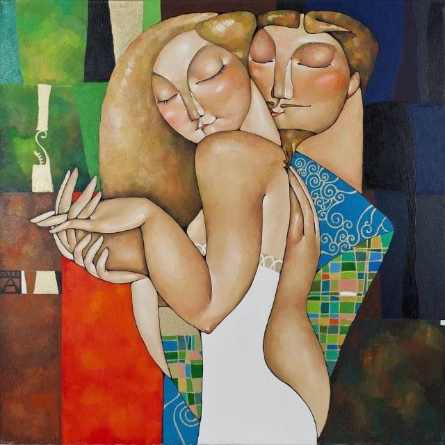 казахская художница Акжана Абдалиева