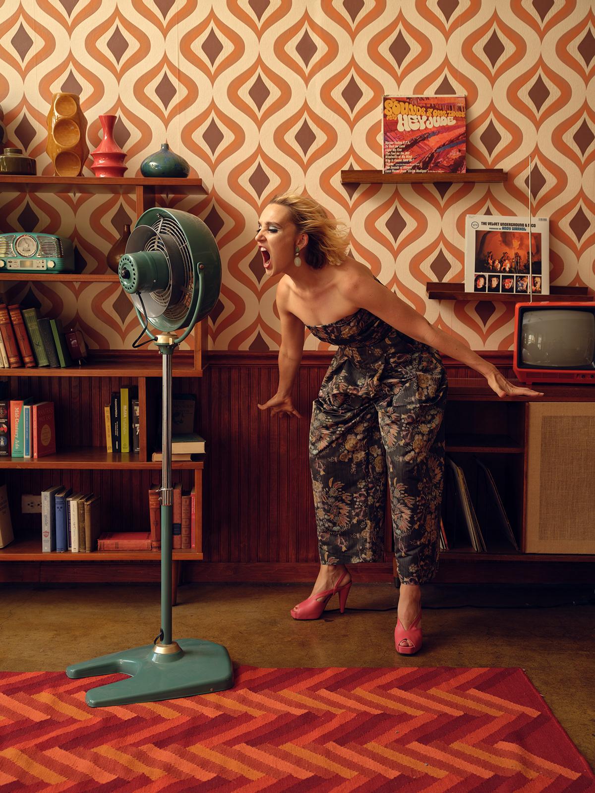 Mid Century Modern with Chloe Fineman / foto Justin Bettman