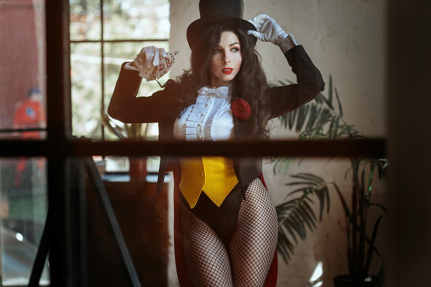 Zatanna & Black Canary / фото Lina Aster