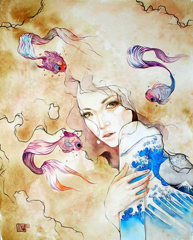 Филиппинский художник и иллюстратор Tokwa Penaflorida