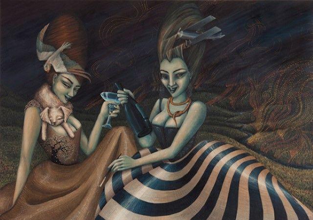австралийский художник Jodi Magi