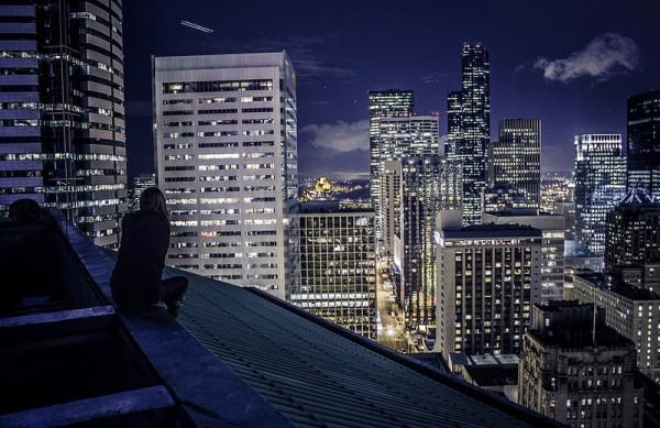 на крыше 2