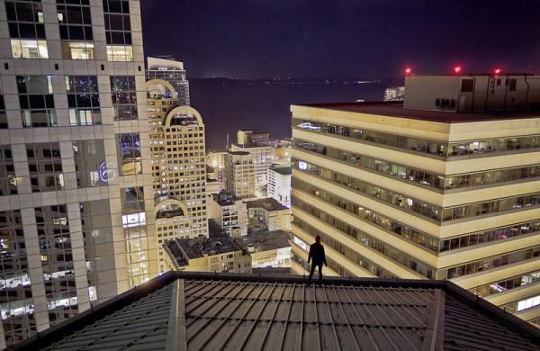 на крыше 5