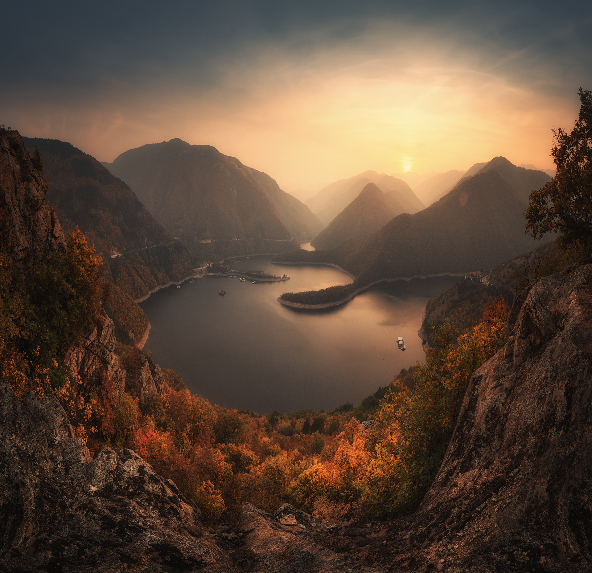 Осень в Румынии