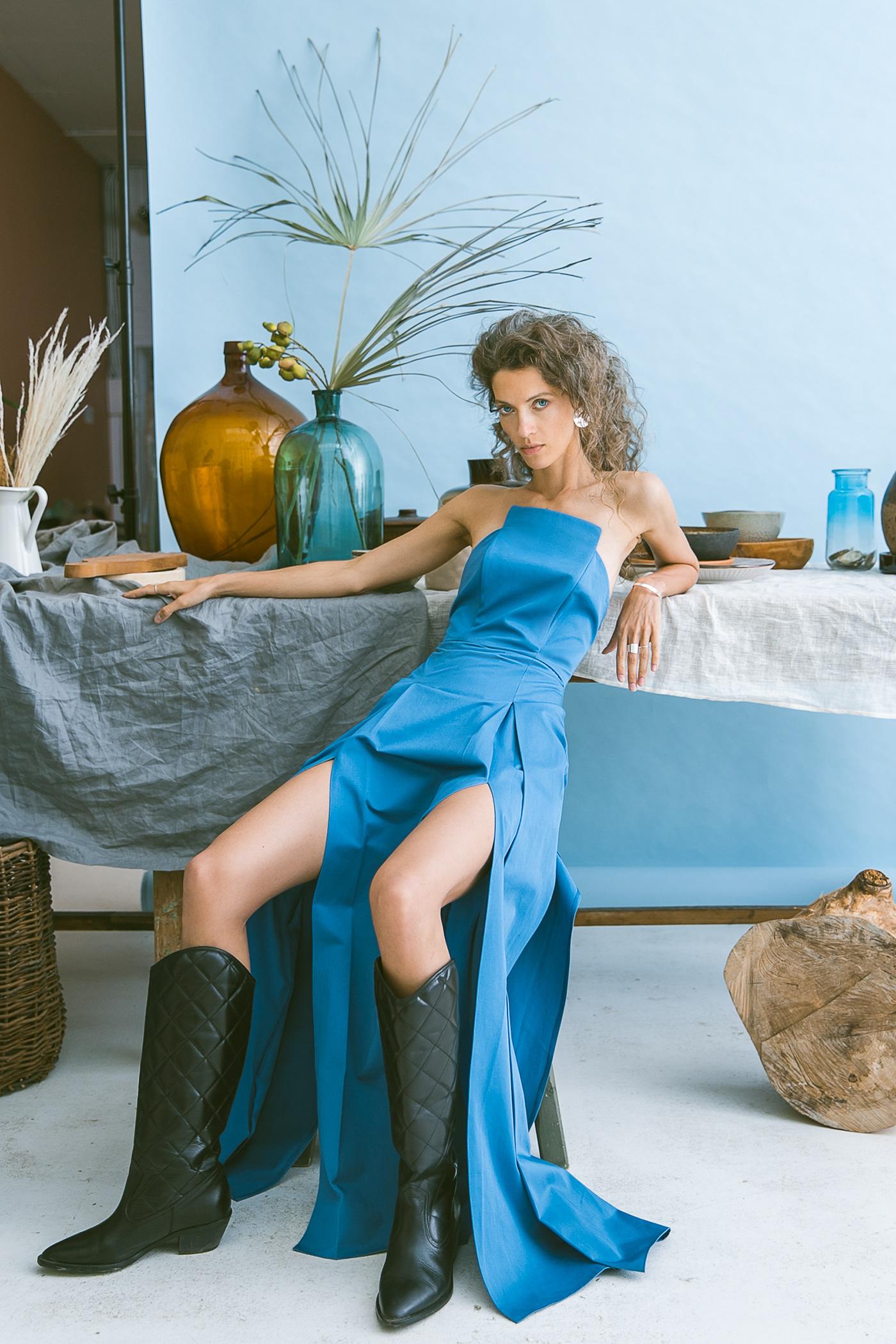 Filicudi for Flanelle Magazine / фотограф Kseniya Che