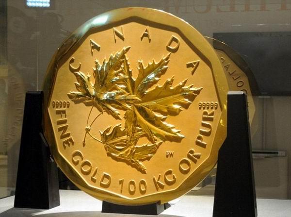самая большая монета