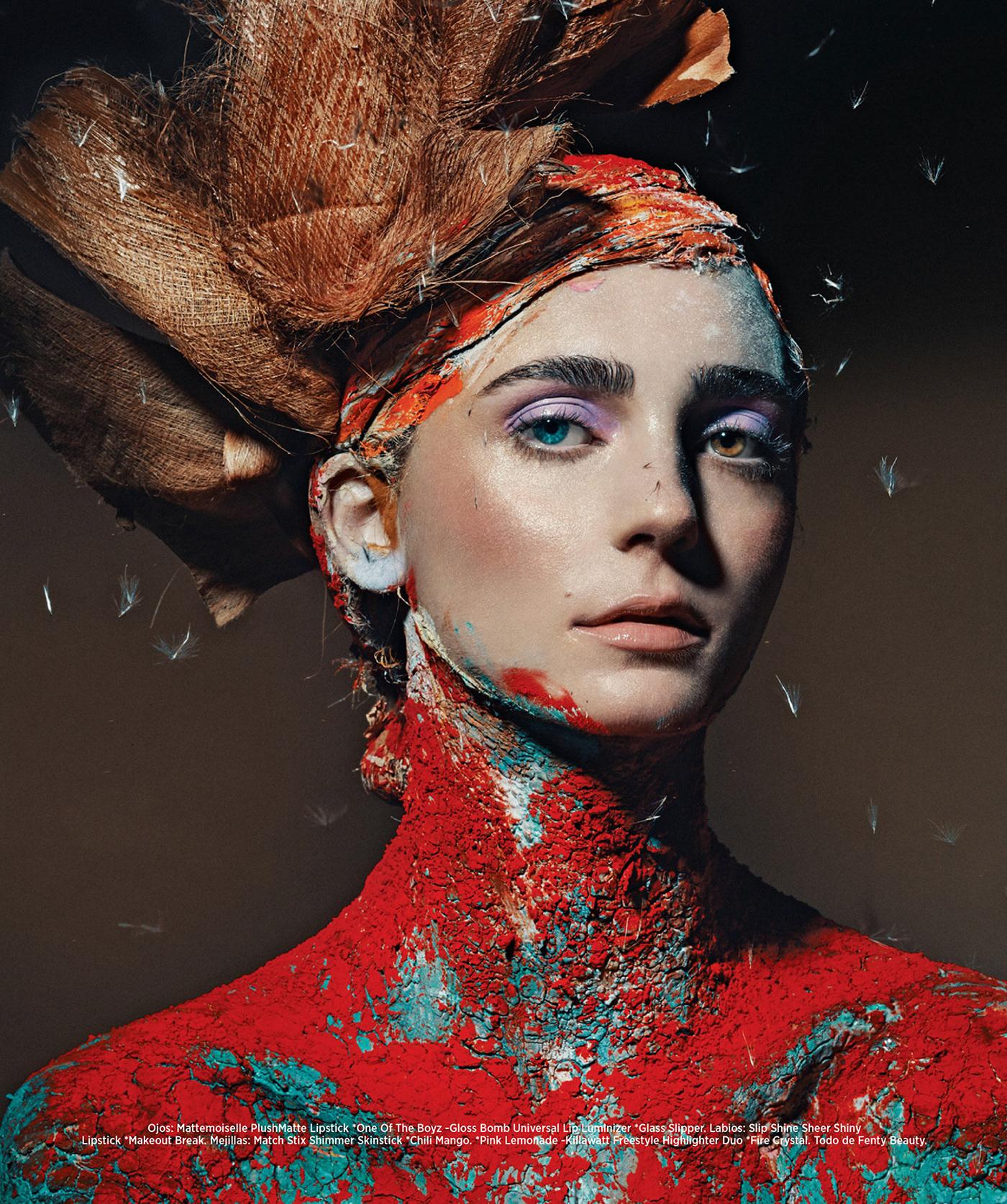 Cromática y dualidad - Harper's Bazaar México NOV 2020