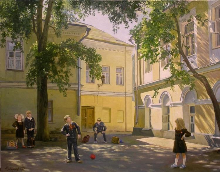Картины художника Филиппа Кубарева