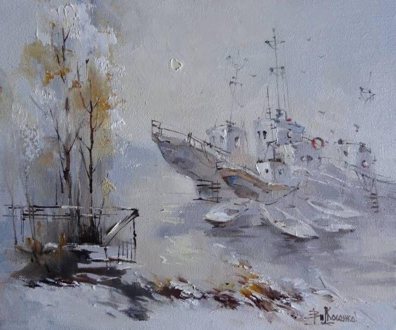 Владивосток / художник Виктория Косенко