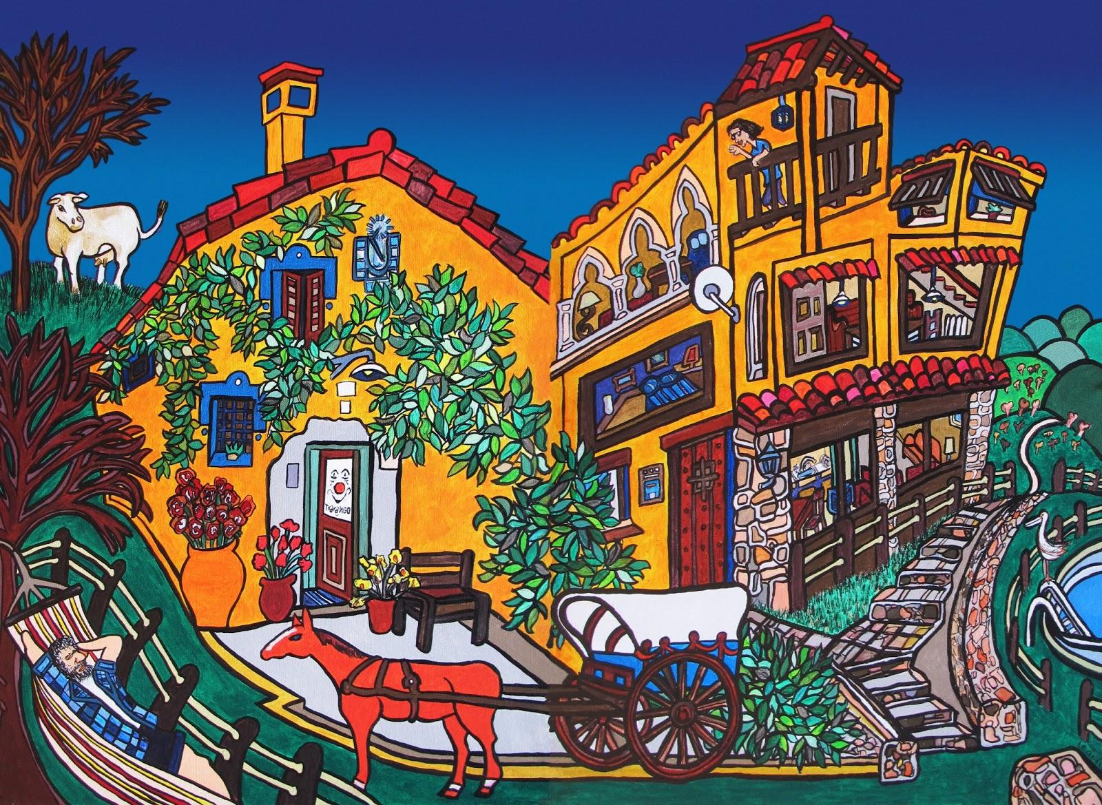 испанский художник Joaquin Lecina