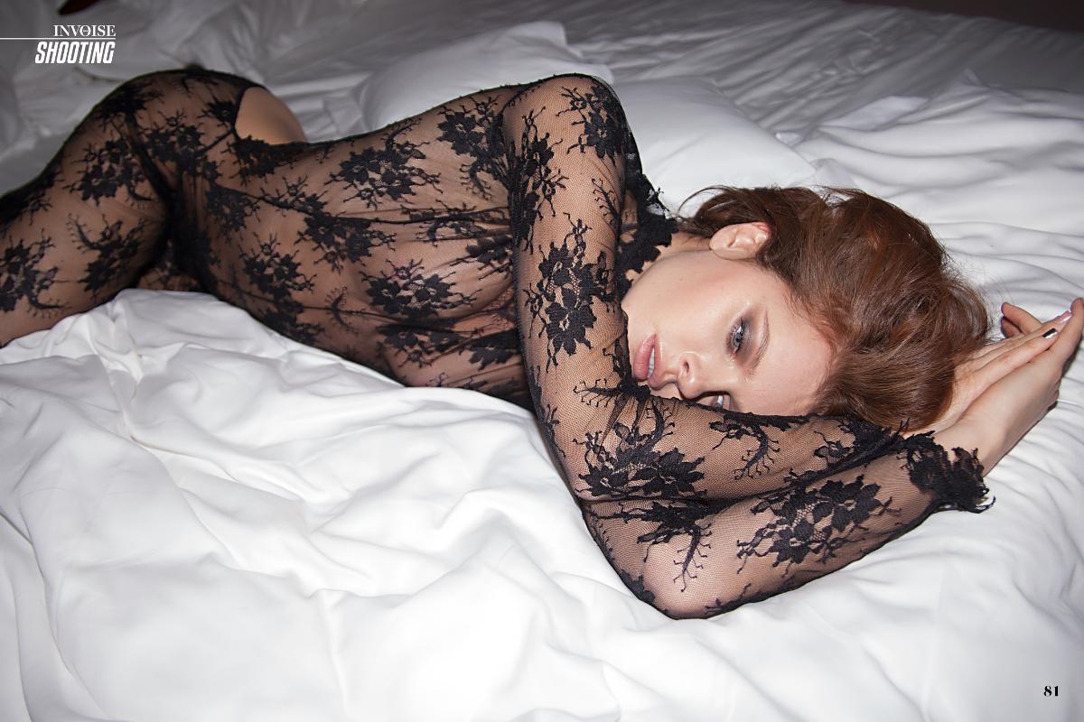model Valeria Lakhina / Invoise magazine