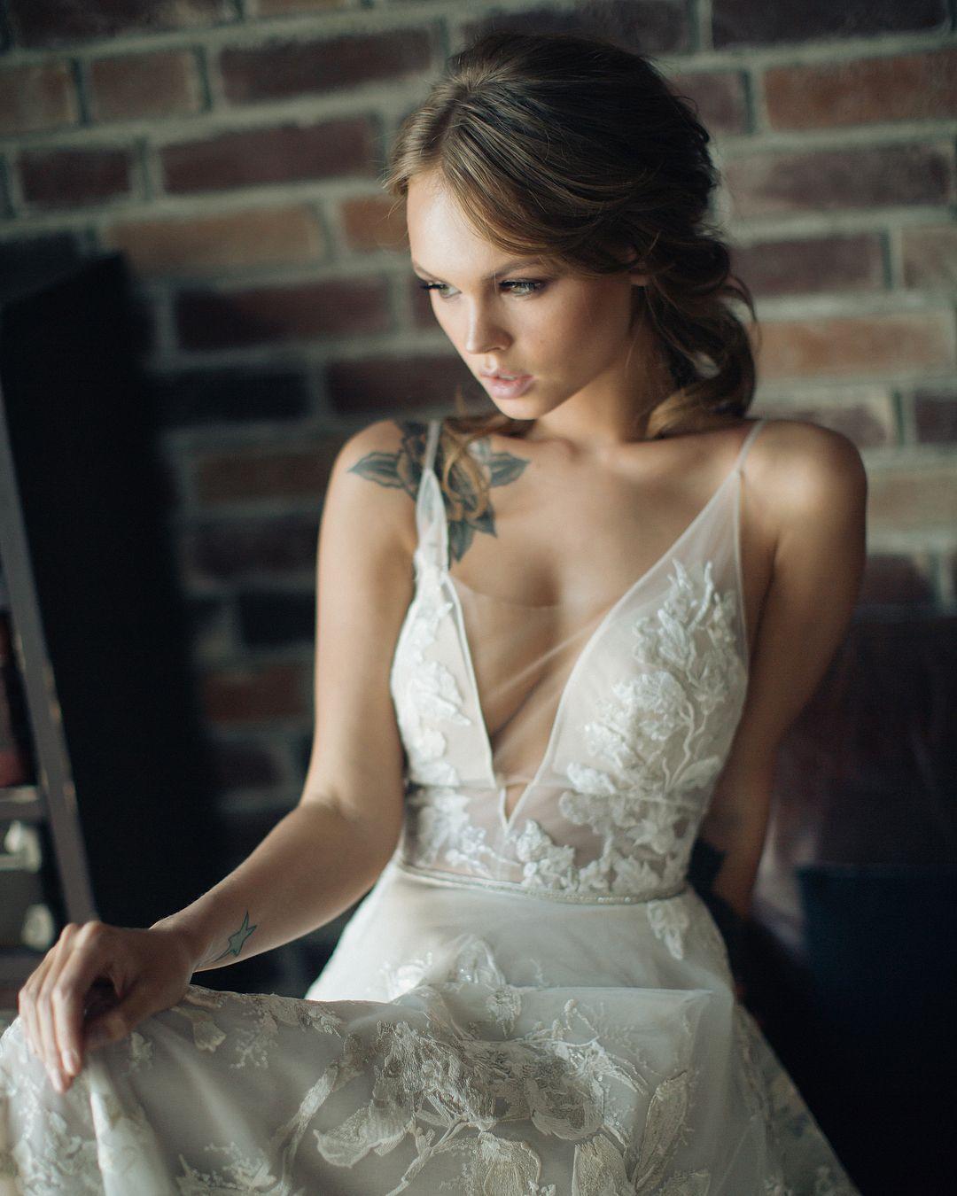 Анастасия Щеглова for Berta / christiwedding