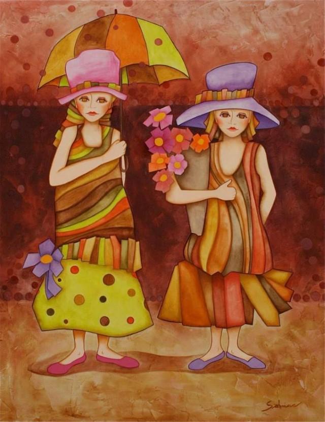 Женщины и дети Sabrina Pinto