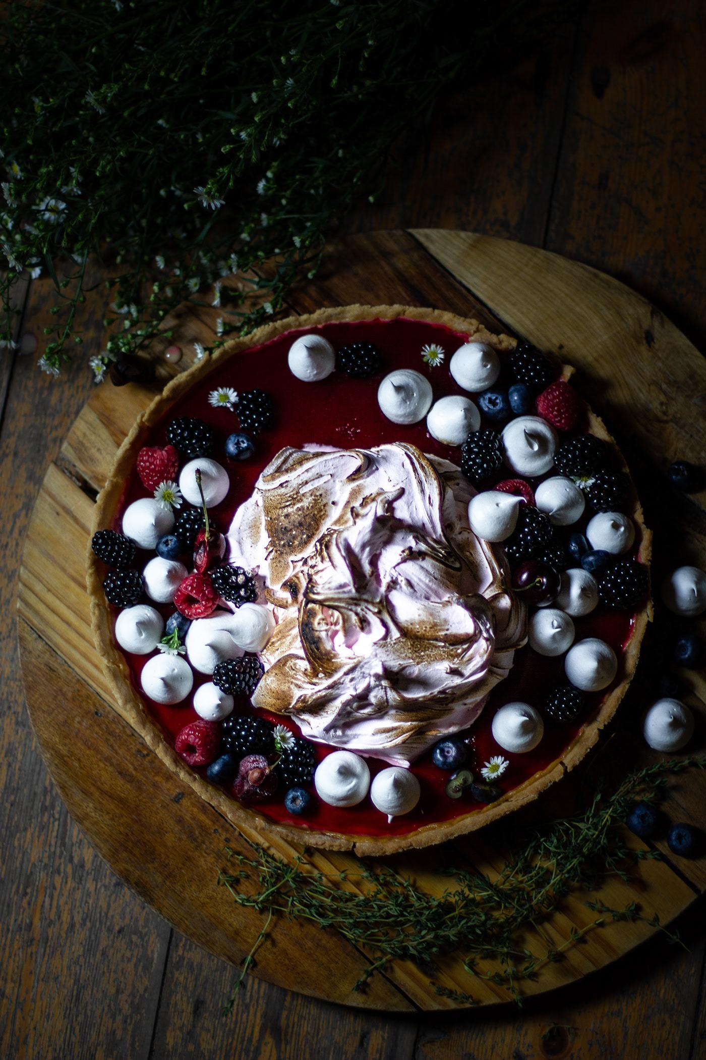 Ягодный пирог Berry Tart