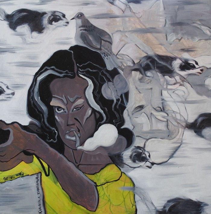 Таиландская художница Kannika Jansuwan