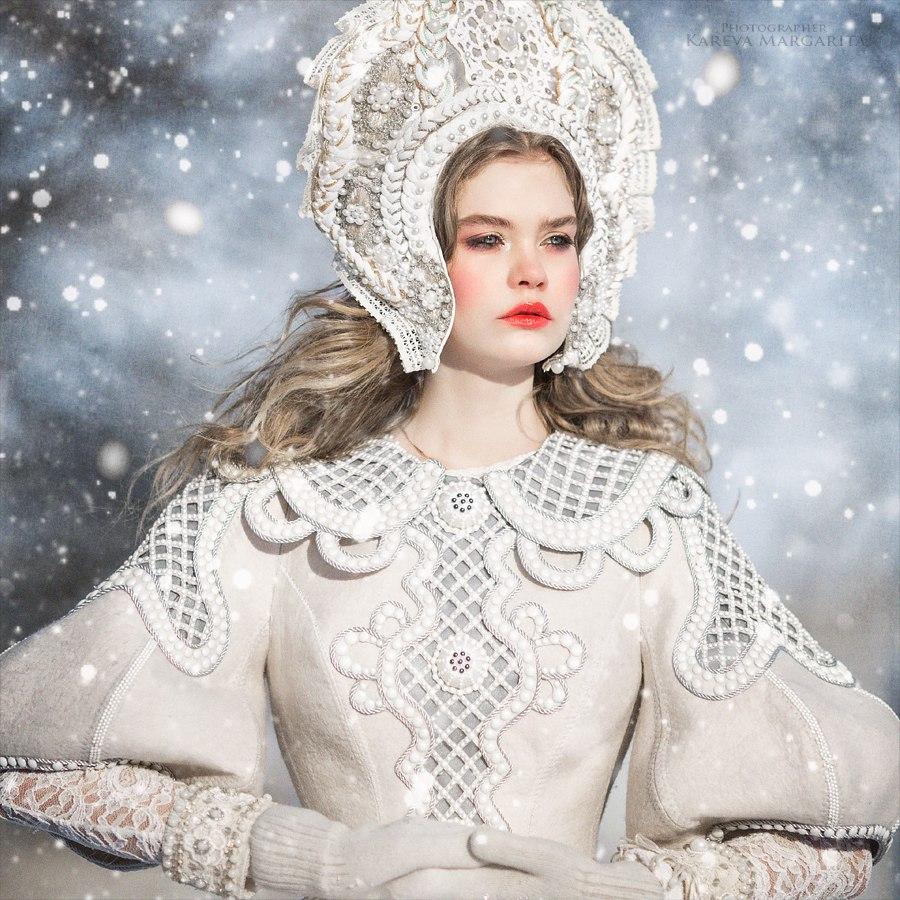 Снежные бабы / фото Маргарита Карева