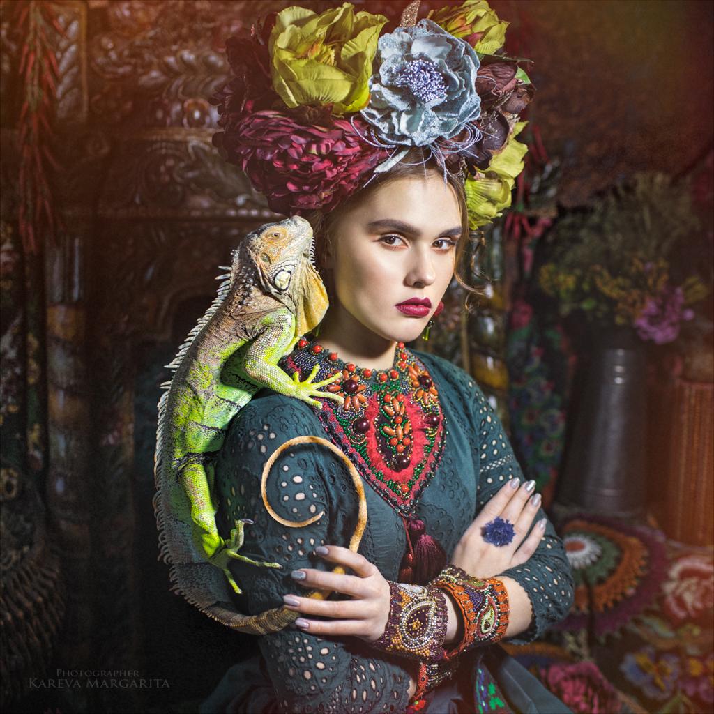 Хамелеон / фото Маргарита Карева