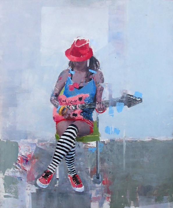 Американский художник Michael Fitzpatrick