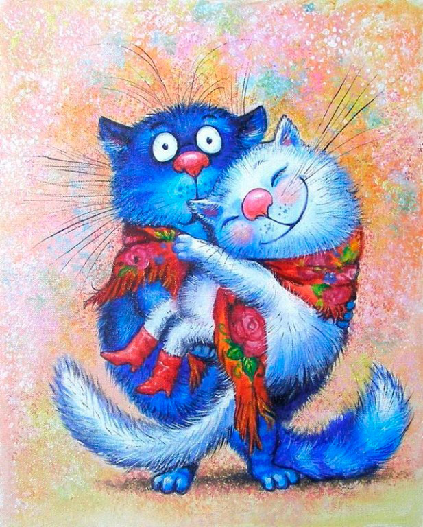 Ирина Зенюк и ее коты