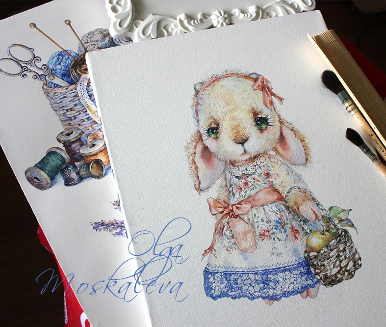 акварельные рисунки / Ольга Москалева