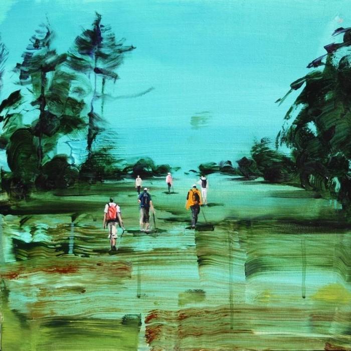 Итальянский художник Sanja Milenkovic