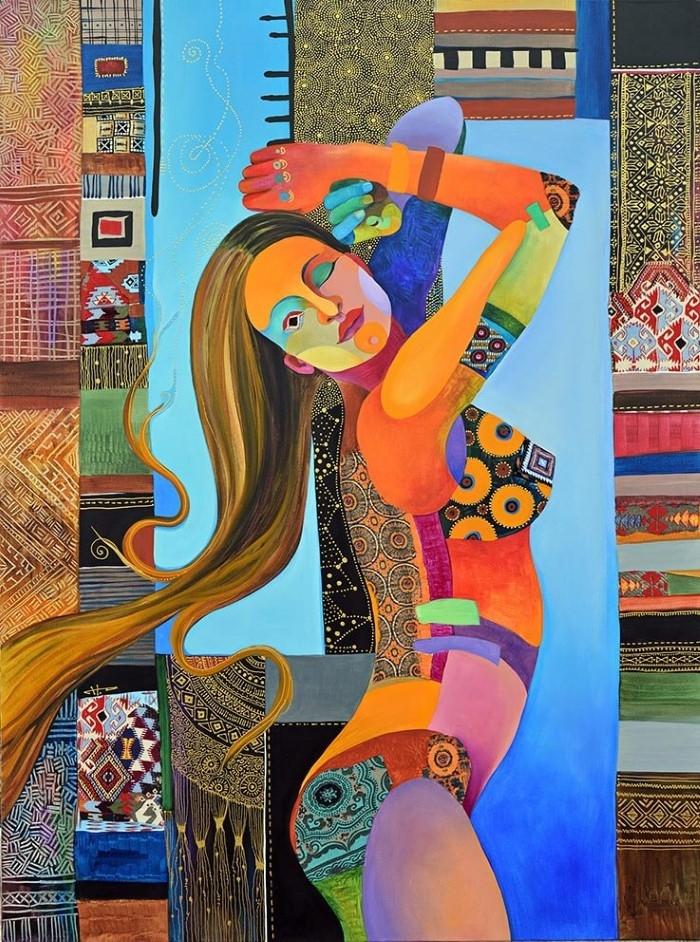 Веселое одиночество / художник Silvia Pavlova