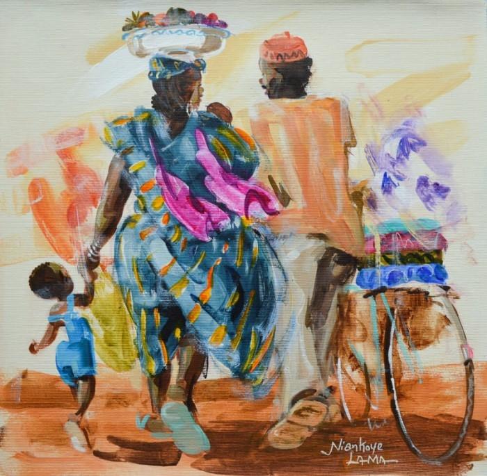 Яркие краски Африки Niankoye Lama