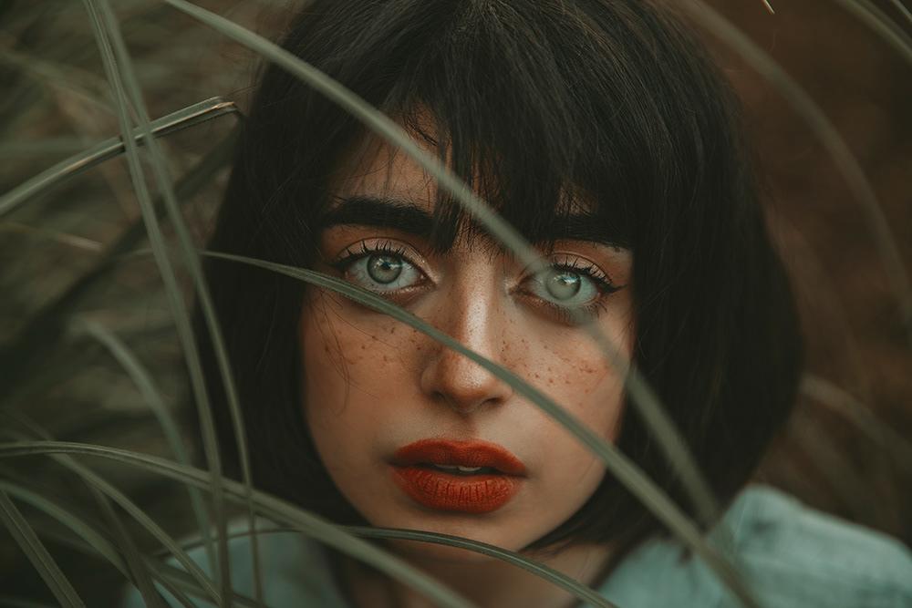 Freckled Eyes