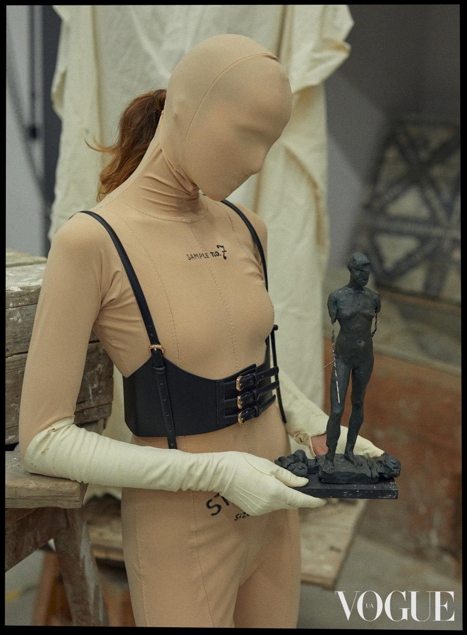 LA FEMME DE NULLE / VOGUE UKRAINE
